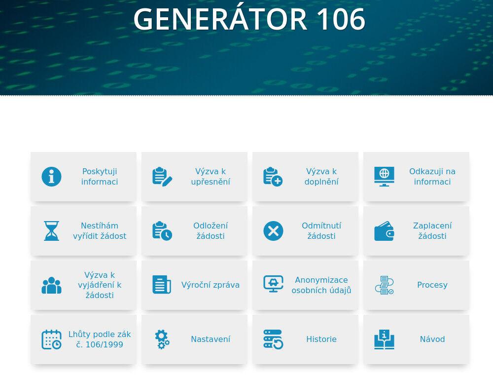 Generátor 106